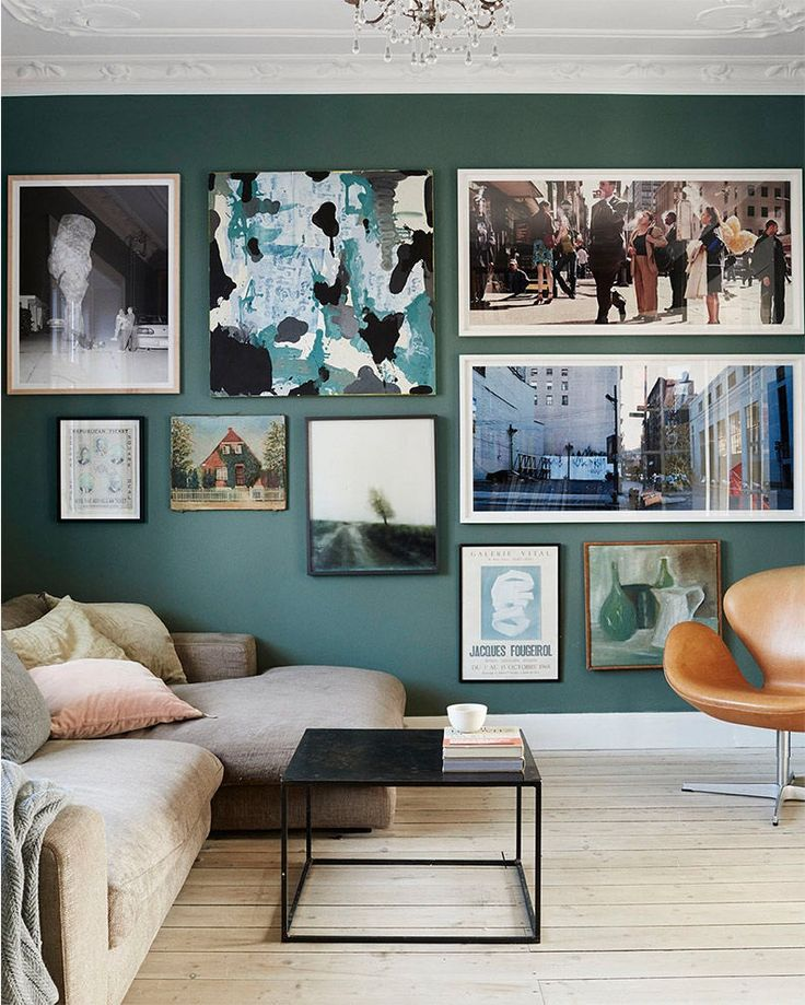 Gorgeous art wall http://ift.tt/24UQ7Cs