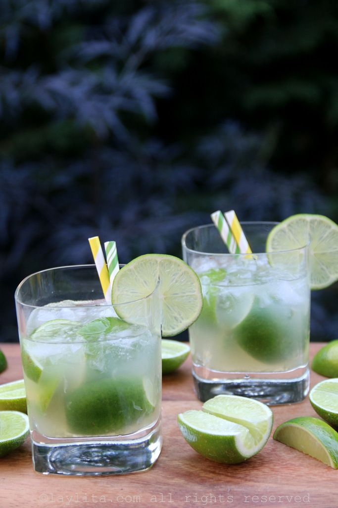 Classic caipirinha – Latin cocktails – Laylita's Recipes