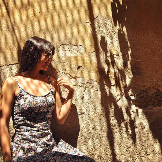 Sun Bathing 🌞   Ft.The Vintage Floral Dress