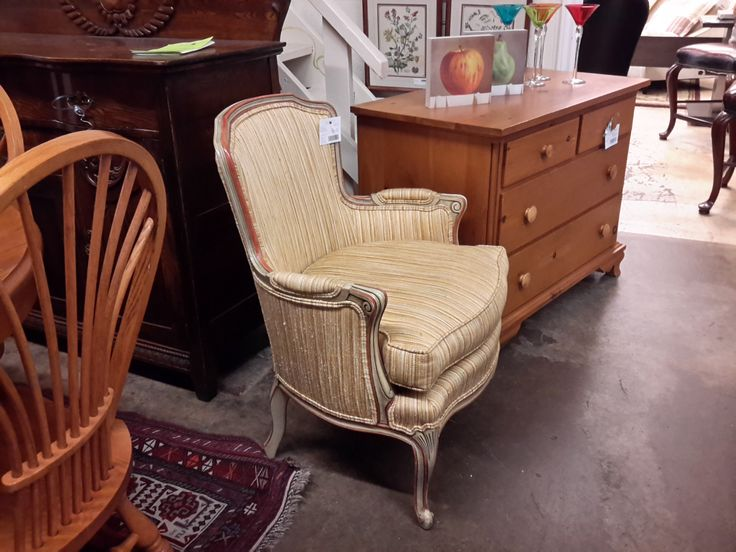 Barrymore Bergere Chair   The Millionaire's Daughter