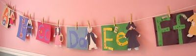 Alphabet of Saint Crafts for Catholic Kids- lots of saint crafts posted!