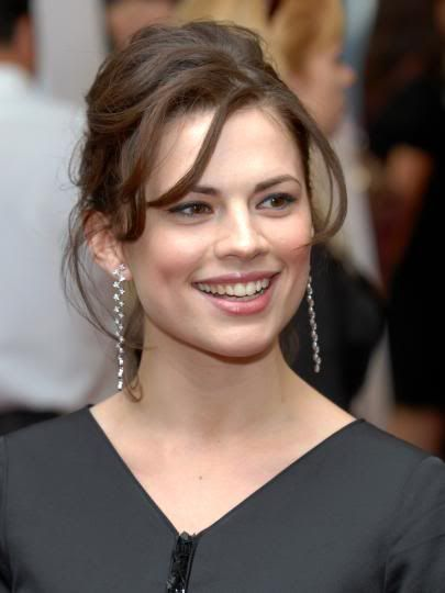 Hayley Atwell  **********Born in London, England, Hayley Elizabeth Atwell has dual citizenship of the United Kingdom and the United States.