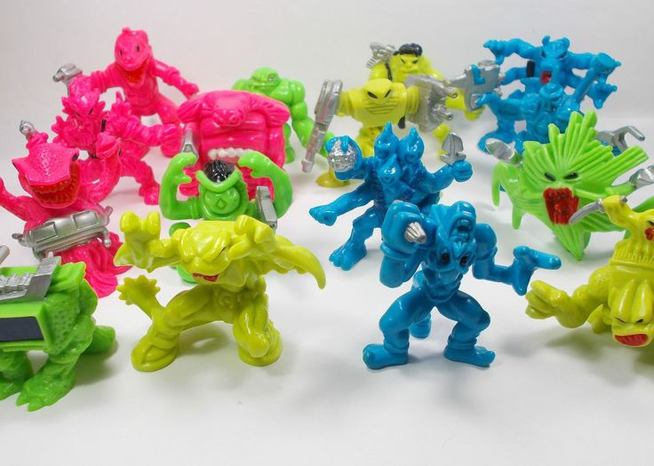 Monster In My Pocket - Series 7 - Space Aliens - Complete Set of 16 Figures