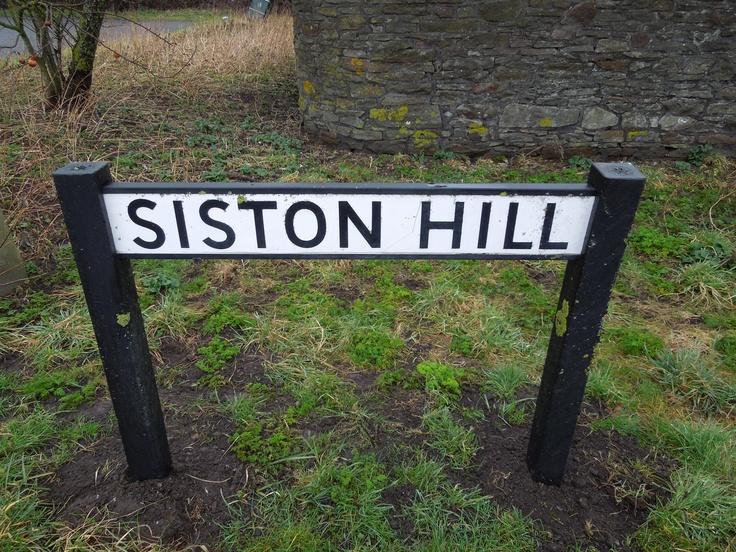 Siston Hill, near Kingswood in Bristol.