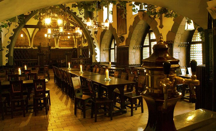 PRAGUE - Brewery and Restaurant U Fleků | Pivovar U Fleků -- recommended by Erin @ Hubspot