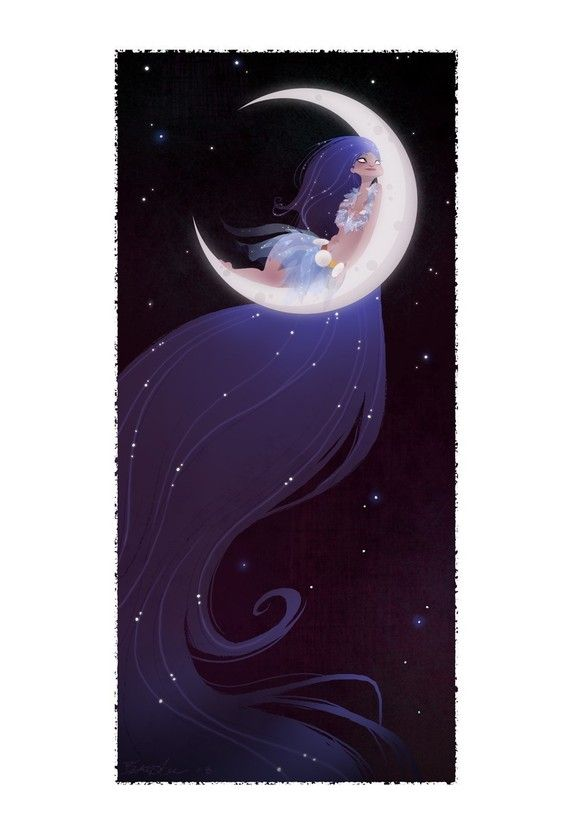 Moon _ Luna - Illust: #BrittneyLee