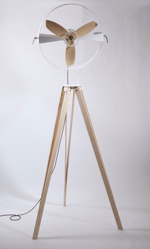 Costa Rican Designer Beautifully Re-Invents the Pedestal Fan