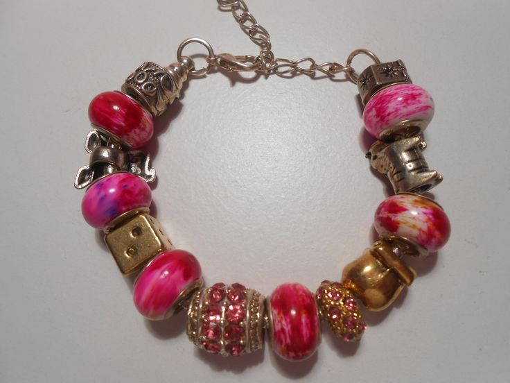 $24.00 Summer 2015 is full of Fuchsia.  You can match this Bracelet with you clothes to have the Summer effect .www.highmoda.eu