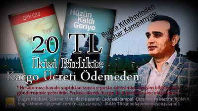Bülent Keskin: Buğra Kitabevinden Bahar Kampanyası...