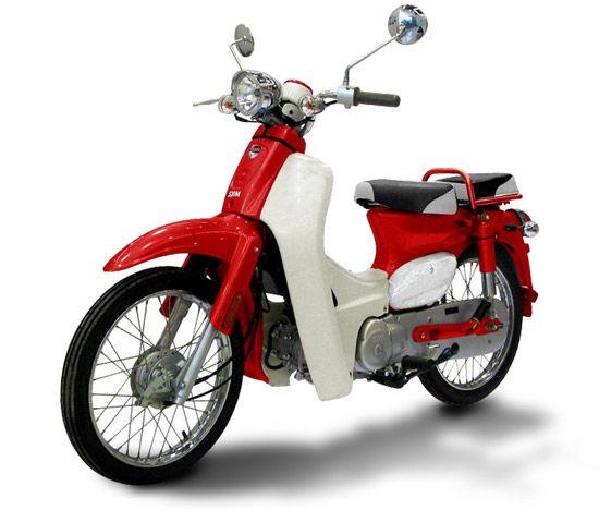 1965 Honda Super Cub -- Al got me one for Christmas -- just like I had when I was a kid!