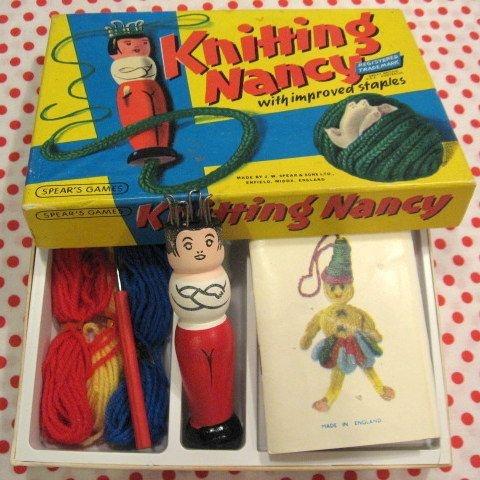 nancy vintage knitting