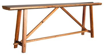 Andon Natural Console Table craftsman-console-tables
