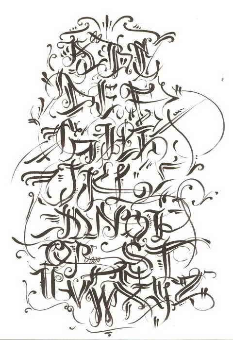 Graffiti Letters, Calligraphy, Street Art, Alphabet Letters, Art Ideas ...