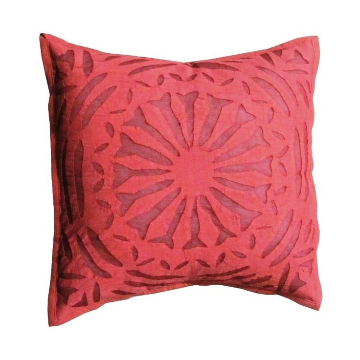 INDIAN HANDMADE CUT WORK COTTON CUSHION PILLOW COVER CASE THROW Decorative Art