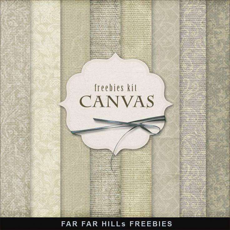 Far Far Hill: New Freebies Backgrounds - Canvas