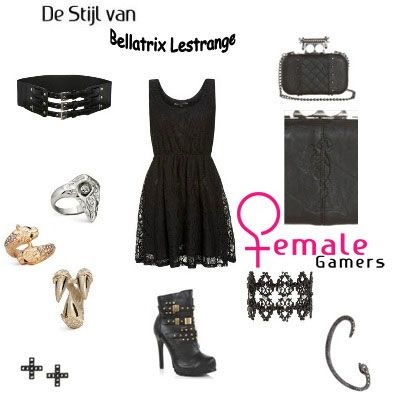 #Bellatrix #HarryPotter http://www.female-gamers.nl/2013/10/de-stijl-van-bellatrix-lestrange-harry-potter/
