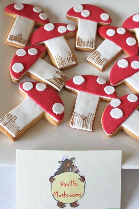 woodland cookies - cute