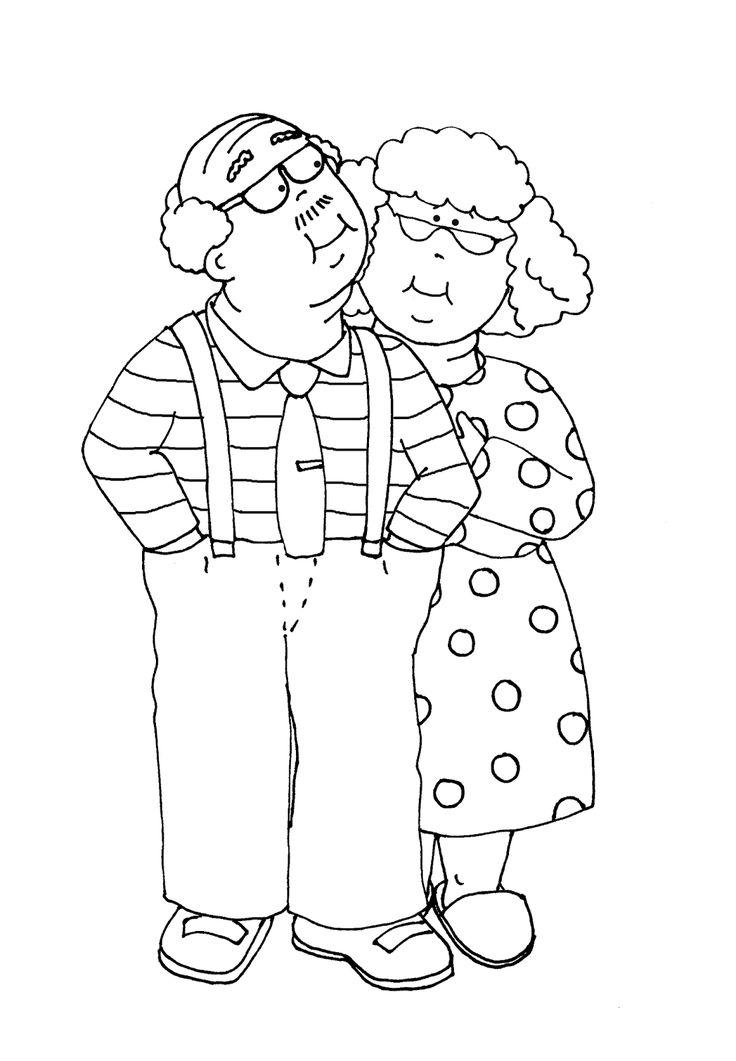 Днем, как нарисовать дедушки открытку