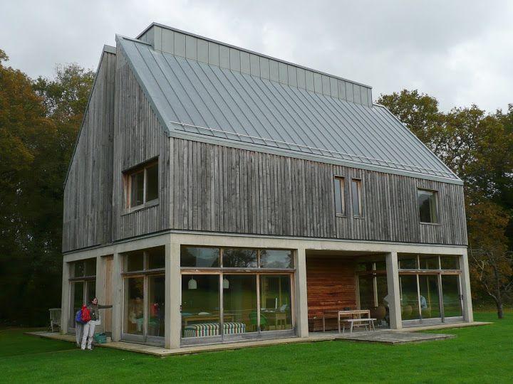 PREWEATHERED ZINC (Rheinzink Blue/Grey) - Private House, Kirdford, Sussex - Boss Metals Ltd - Picasa Web Albums