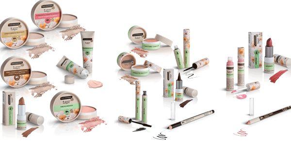 Risultati immagini per NATURA VERDE BIO make up