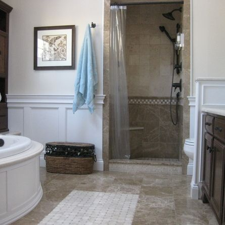 Best Wainscotingbathrooms Images On Pinterest Bathroom Ideas - Home remodel contest