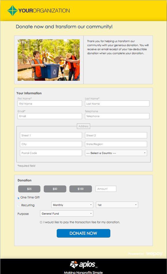 Best 25+ Donation form ideas on Pinterest Auction donations - sample donation request form