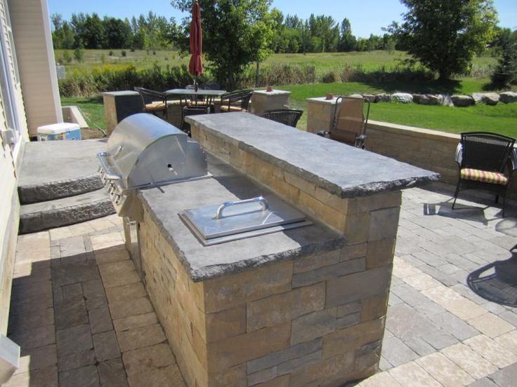 158 best images about outdoor kitchen on pinterest built for Outdoor cooking station ideas