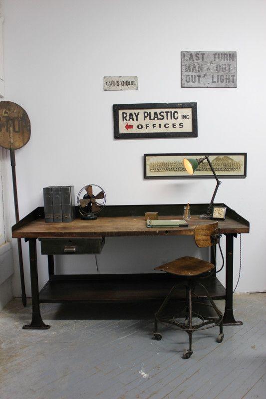 scrivania industriale