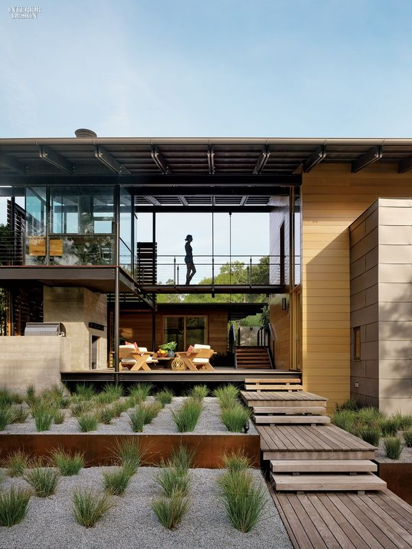 Austin City Limits Lake Flato And Abode Transform Texas House LimitsInterior Design MagazineLake HousesTexasLakesArchitecture