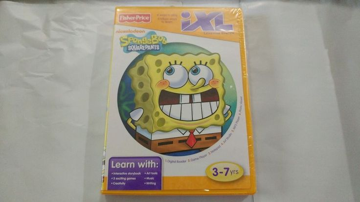 NEW Fisher Price IXL Learning System SpongeBob Squarepants  AGE 3-7 #FisherPrice