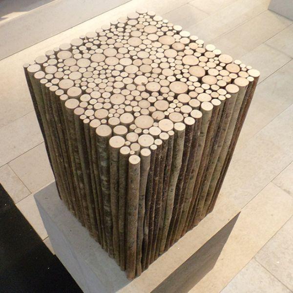 Original wooden seat
