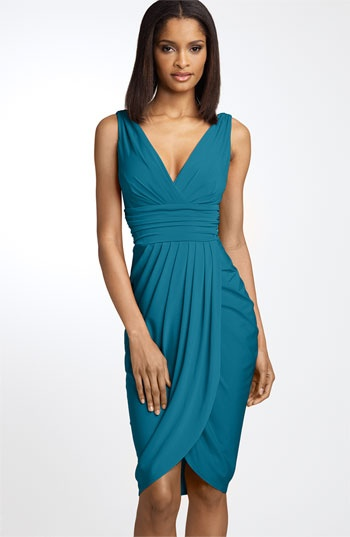 $108 maggy london sarong dress: Little Dresses, Sarong Dress, Maggie London, Cocktails Dresses, Sarongs Dresses, Bridesmaid Dresses, London Sarongs, Little Black Dresses, Maggielondon