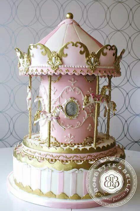 473 Best Carousel Cakes Images On Pinterest