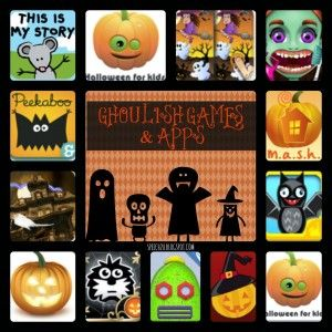 A gazillion Ghoulish Games and Apps