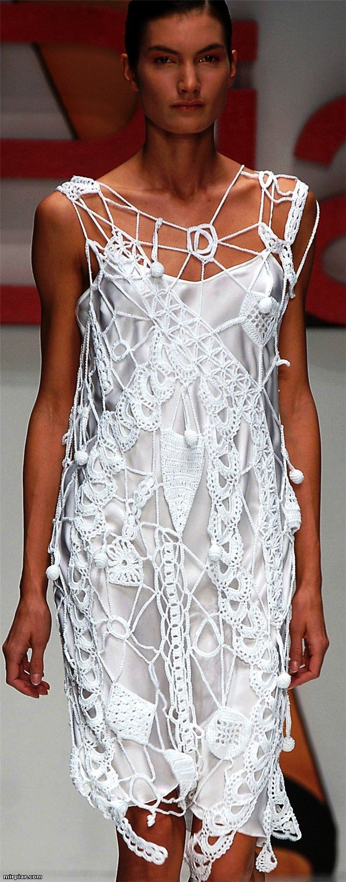 White dress crochet - Find This Pin And More On Crochet