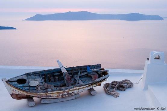 santorin island