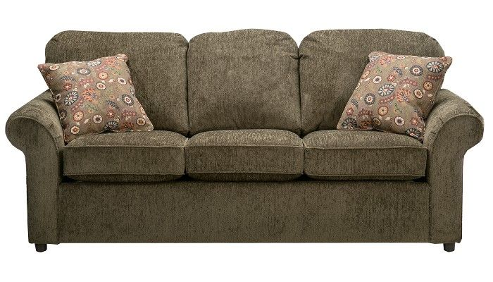 SLUMBERLAND Burke Collection Basil Sofa 2101403 THIS IS TOO SHORT, but I love the color