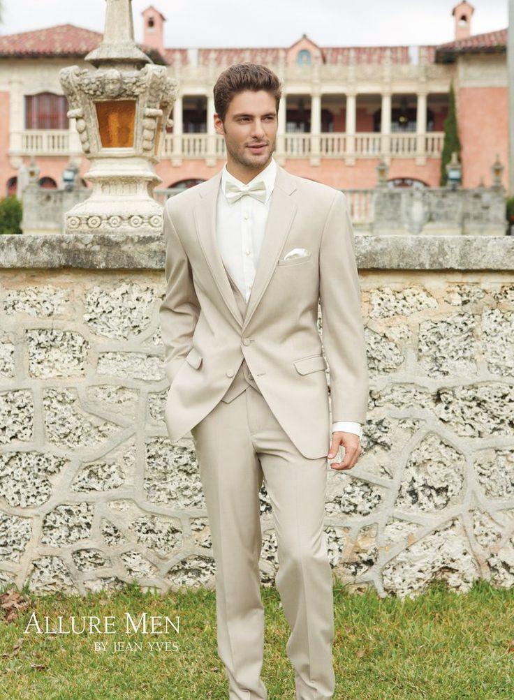 Allure: Tan Bartlett Modern Fit Tuxedo