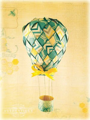 Authentique Paper:  Up, Up and Away with Seasons: Summer