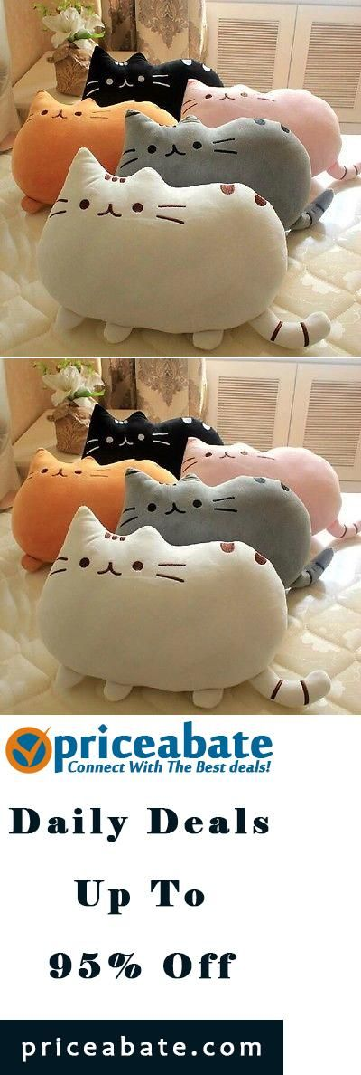 #Priceabate Plush toy stuffed doll cute fat cat small pussy pillow cushion birthday gift 1pc - Buy This Item Now For Only: $14.23