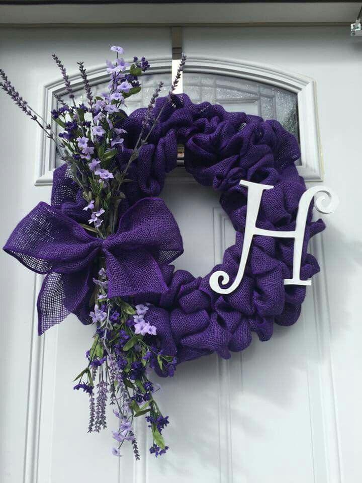 best 25  purple wreath ideas on pinterest