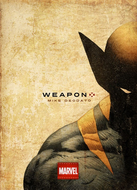 Weapon X // Wolverine - Art by Mike Deodato // Design, Colors and Typography by Jeremy Mace
