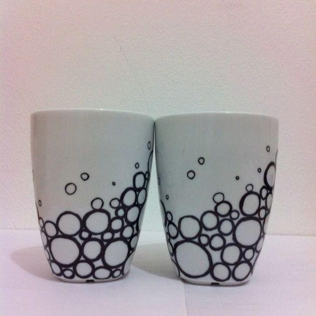 handmade mug design thank you pinterest for the idea - Mug Design Ideas