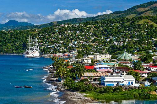 Roseau, Dominica-- I've been here!!! Such a beautiful little island!