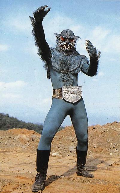 狼男(実験用)Wolf man