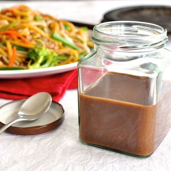 Restaurant Secret: Real Chinese All Purpose Stir Fry Sauce you can make in 2 minutes and store in the fridge for when you need it. #chinese #sti_fry #sauce #easy #homemade #fast