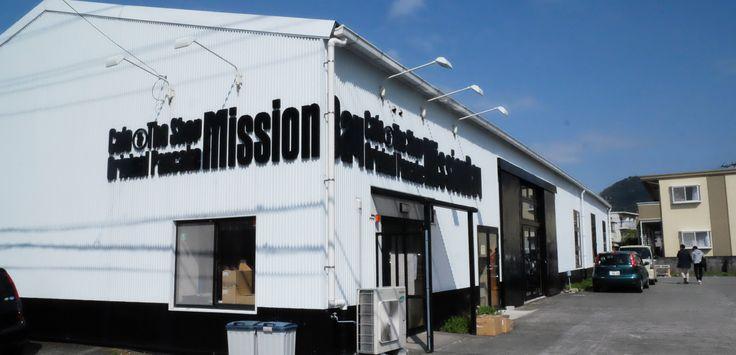 倉庫リノベーション!カフェ&ライフスタイルショップ「ミッションベイ/Mission Bay」(静岡県沼津)