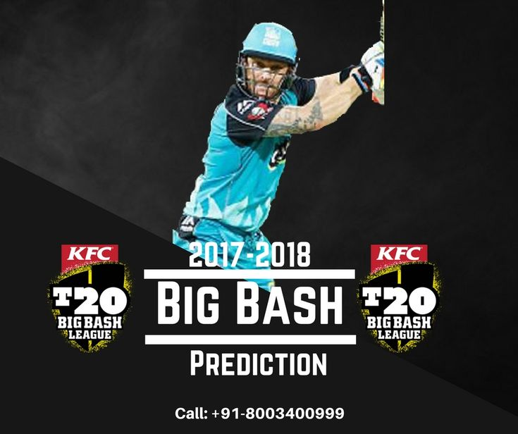 Big Bash Prediction Get 100% Accurate and Exact Ball to Ball Predictions by Expert Cricket Predictor, Call or Whatsapp: +91-8003400999 or Visit: https://www.astro-raj.com/KFC-T20-matches-prediction.php #BigBashPrediction #BBL2017 #Prediction