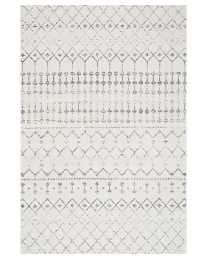 Stella Tribal Boho Home Decor Rug from Hesby. A neutral minimal rug for the minimalists living room