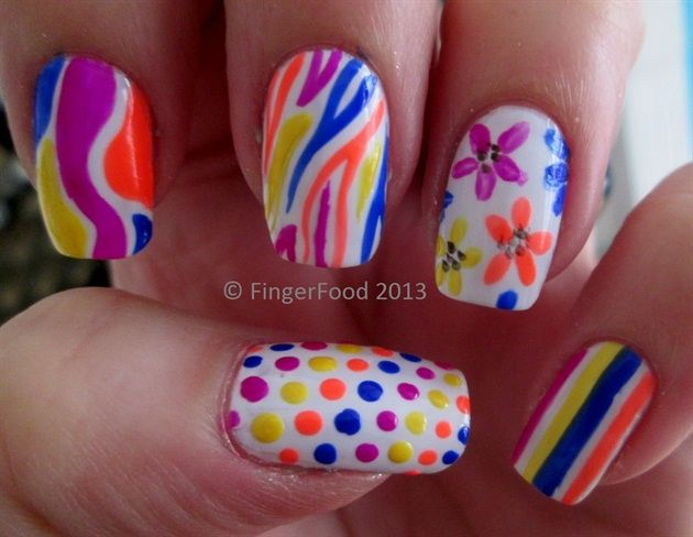 1189 best best of nail art gallery images on pinterest nail late summer skittles by fingerfood nail art gallery nailartgalleryilsmag by nails prinsesfo Images